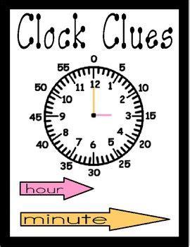 clock clues teaching math math measurement education math