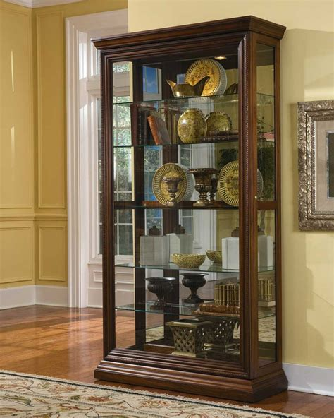 curio cabinets for pulaski curio cabinets for home office