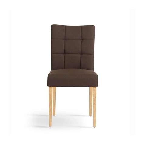 chaise de sejour chaise de séjour en bois et tissu carré mobitec 4
