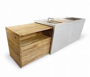 Outdoor Küche Beton : the concrete outdoor k che modulk chen von dade design ~ Michelbontemps.com Haus und Dekorationen