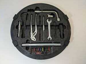 It is available in 17 colors, 2 variants, 1 engine, and 1 transmissions option: MERCEDES EMERGENCY SPARE TIRE TOOL KIT S500 S430 S600 S CLASS AMG OEM TOW FUSE   eBay