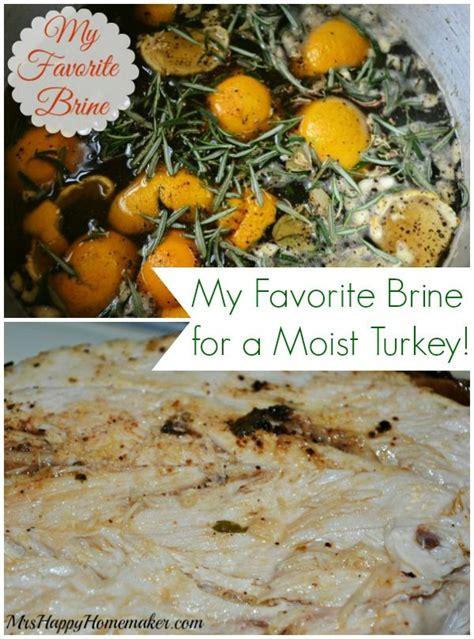 favorite brine recipe thanksgiving   brine