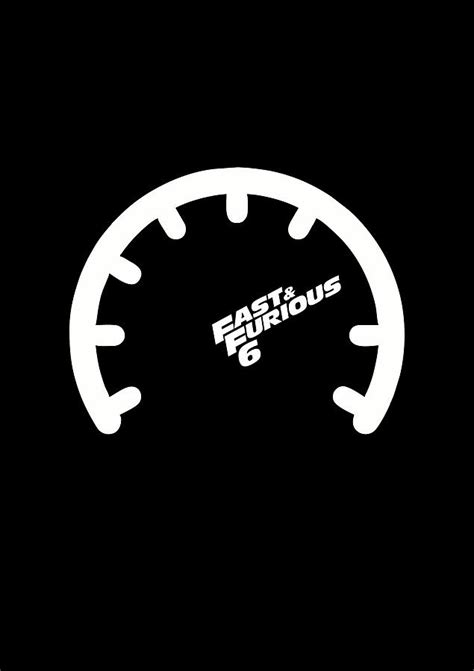 The Fast And The Furious Hollywood Movies Minimalist