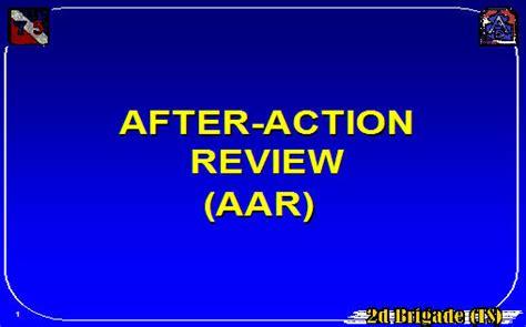 action review aar armystudyguidecom