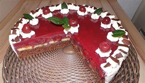 Kuchen Mit Kastenform Und Kirschen Kirsch Bananen Torte Rezepte Chefkoch De