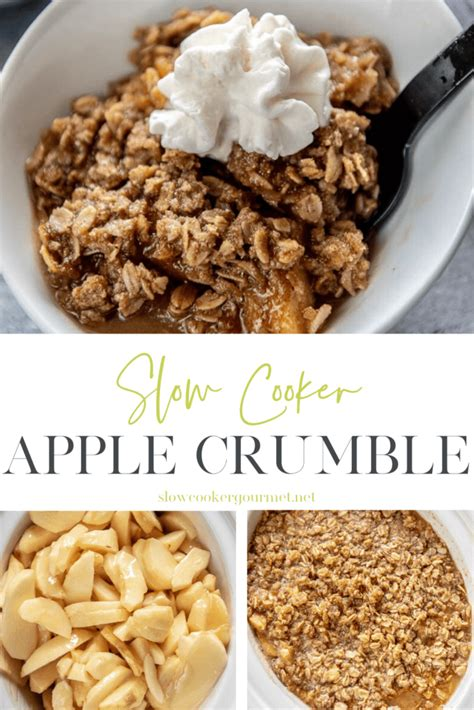 cooker slow crumble apple