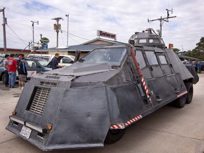 armored vehicles inside tornado alley filmmaker used armored truck to film