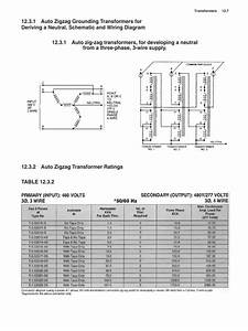 Grounding Transformer Wiring Diagram