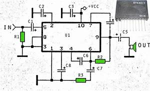 6 5w audio power amplifier circuit harness wiring With fire alarm systems circuit diagram furthermore rf power lifier circuit