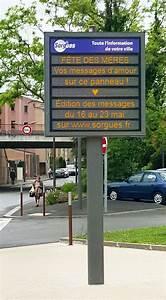 Panneau Lumineux Message : f te des m res votre message sur les panneaux lumineux ville de sorgues ~ Teatrodelosmanantiales.com Idées de Décoration