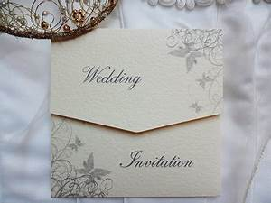 silvery grey butterfly tri fold wedding invitations cheap With inexpensive tri fold wedding invitations
