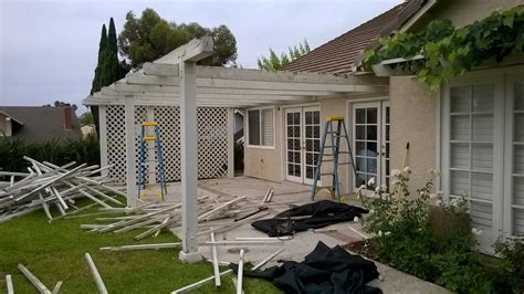 san juan capistrano aluminum patio cover before and after