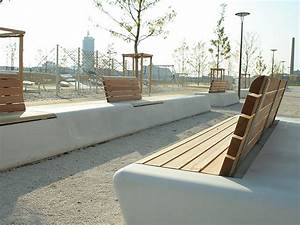 Street Furniture designs - Arpa Concrete Bench System