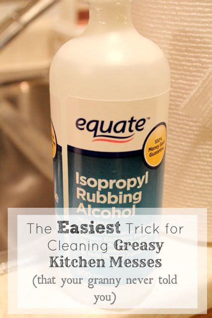 what to use to clean greasy kitchen cabinets the easiest trick for cleaning greasy kitchen messes that 2249