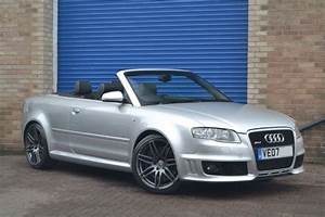Used Light Silver Audi Rs4 Cabriolet For Sale