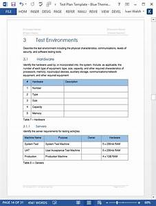 Test Plan Templates  Ms Word  Excel   U2013 Templates  Forms
