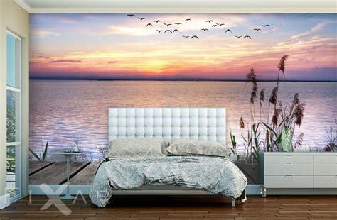 wandtapete schlafzimmer romatischer sonnenuntergang fototapete f 252 r schlafzimmer