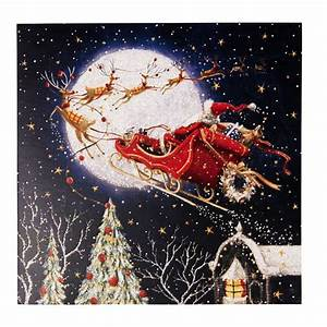 Santa Claus Is Coming To Town Charity Christmas Cards