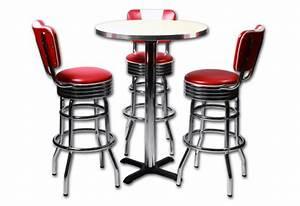 Tabouret De Bar Retro : tabouret de bar us ~ Teatrodelosmanantiales.com Idées de Décoration