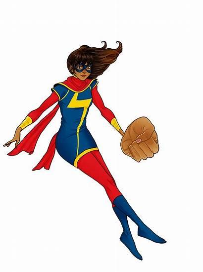 Marvel Clipart Transparent Superhero Superheroes Ms Kamala