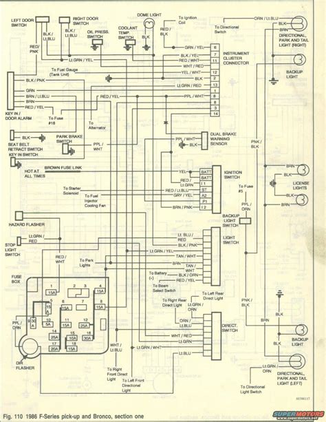 1979 Ford Bronco Wiring Diagram by Wiring Diagram Ford Truck Enthusiasts Forums