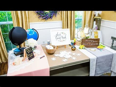 diy wedding guest book ideas home family youtube