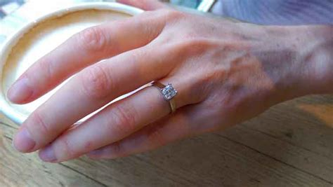 engagement ring style advice for long fingers heirloom