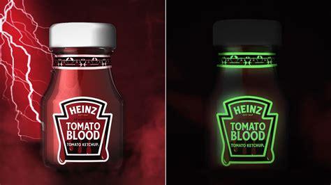 Heinz dévoile une bouteille de ketchup phosphorescente ...