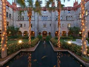 Courtyard Inside Lightner Museum In St  Augustine Florida