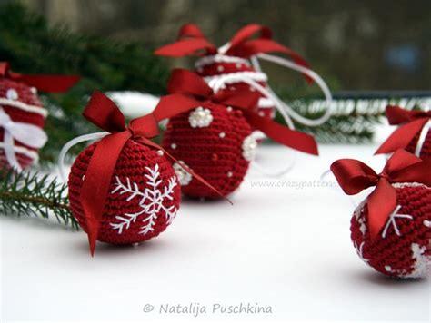 Weihnachtskugeln Selber Häkeln Diydeko