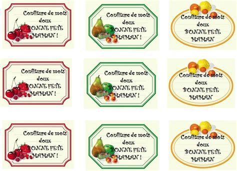 etiquettes pour pots de confiture a imprimer confiture de mots doux chabadou