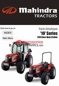 Mahindra 5010 Hst With Cab Tractor Operators Owners Manual Original