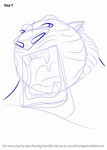 Learn How To Draw Tiger God From Aladdin Aladdin Step By Step Drawing Tutorials