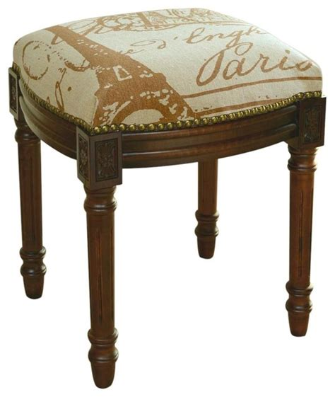 vanity stool post sts antique traditional