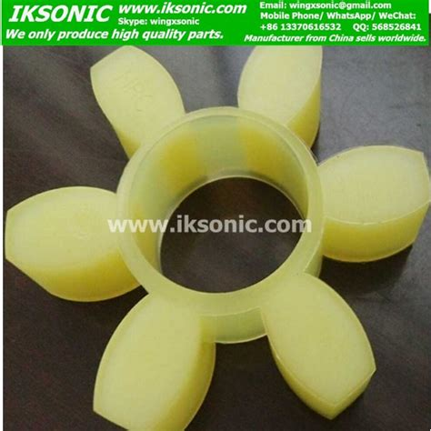 hrc pu rubber coupling element spider  clawiksonic leading manufacturer supplier rubber