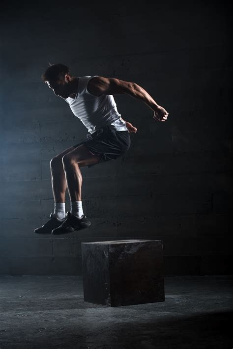 plyometric box jump exercise kettlebell exercises workout athlete plyometrics benefits jumping plyo jumps shred vertical increase training series physical gym
