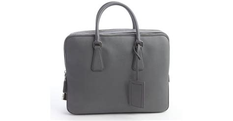 Prada Mercury Saffiano Leather Small Travel Bag In