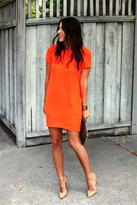 orange outfit ideas  women  wear