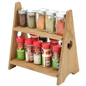 Small Spice Rack by Wood Small Spice Rack Display Shelves Countertop