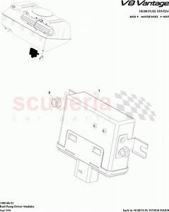 Aston Martin V8 Vantage Fuel Pump Driver Modules Parts
