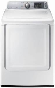 Samsung White Front-load Electric Dryer  A2