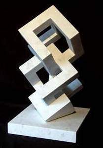 Abstract Organic and Geometric Sculpture
