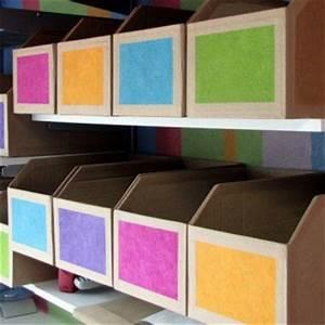 Banette De Rangement : des casiers de rangement en carton de r cup ration magazine avantages ~ Teatrodelosmanantiales.com Idées de Décoration