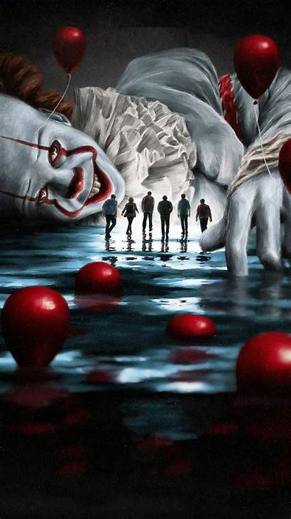 Iphone 4k Wallpapers Pennywise Movies Scary Clown