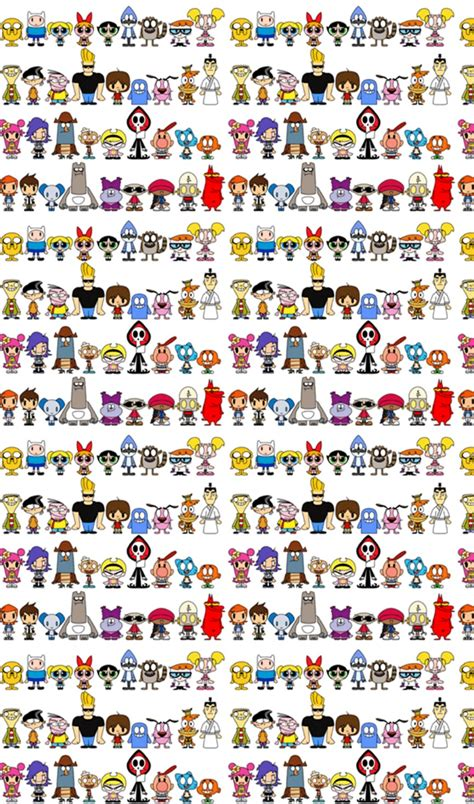 Cartoon Network Wallpaper Hd Patterns Backgrounds Wallpaper Images Cartoon Network Characters Hd Wallpaper And Background
