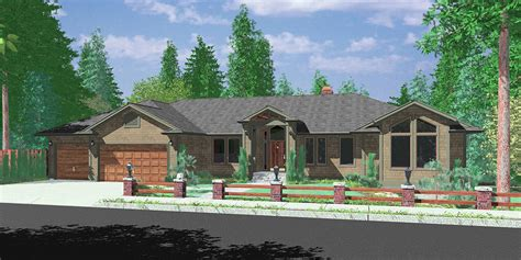 patio home plans ranch new ranch house plans patio house design and office new