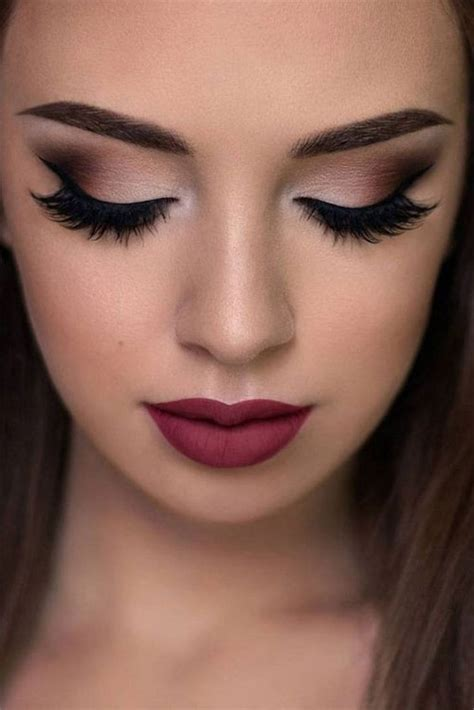 autumn face makeup  trends ideas  girls women  modern fashion blog