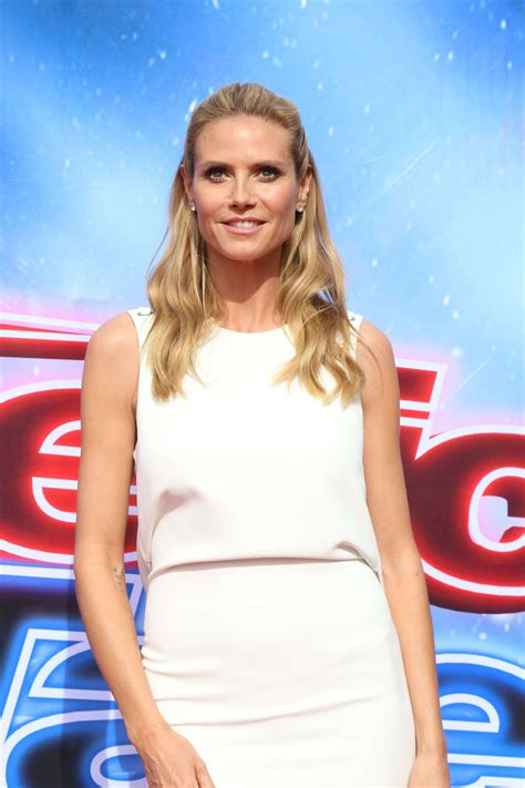 Heidi Klum America Got Talent Judges Photocall