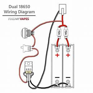 How To Build Unregulated Dual 18650 Box Mod With Mosfet