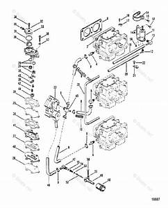 Mercury Mercury  U0026 Mariner Outboard Parts By Hp  U0026 Liter 150hp Oem Parts Diagram For Fuel Pump And